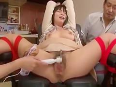 Best Japanese slut Miwako Yamamoto, Kana Oohori, Imai Natsumi in Crazy Dildos/Toys, Masturbation/Onanii JAV scene