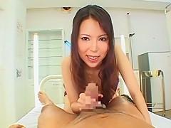 Hottest Japanese slut Rino Asuka in Crazy POV, Hairy JAV movie