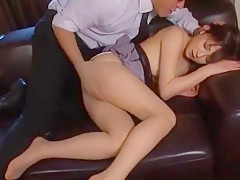 Amazing Japanese chick Ai Komori in Fabulous Fingering, Doggy Style JAV movie