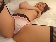 Amazing Japanese model Ran Asami in Hottest POV, Stockings/Pansuto JAV clip