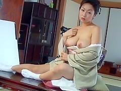 Horny Japanese slut Riho Yanase in Hottest Compilation JAV scene