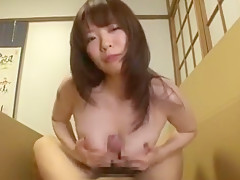 Hottest Japanese chick Saya Yukimi in Crazy Handjobs, POV JAV video