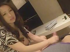 Horny Japanese girl Ayako Fujimori in Incredible Fingering, Handjobs JAV movie