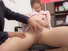 Hottest Japanese girl Mai Shirosaki, Anna Kisa, Aika Nose in Crazy Small Tits, Doggy Style JAV clip