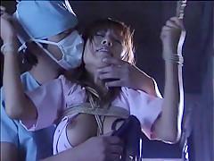 Amazing Japanese chick Ryo Hoshi, Mami Gotoh, Shizuku Tsukino in Exotic BDSM JAV clip