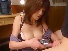 Best Japanese girl Ai Komori in Hottest Blowjob/Fera, Big Tits JAV clip