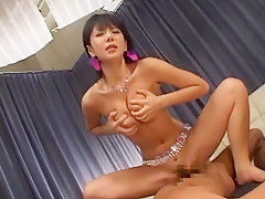 Incredible Japanese slut Yuria Satomi in Best Big Tits, Doggy Style JAV clip