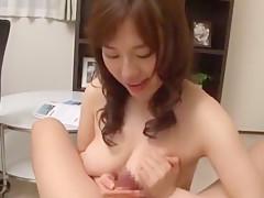 Exotic Japanese whore Azusa Nagasawa in Amazing POV, Facial JAV scene