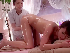Fabulous Japanese model in Exotic Massage, Small Tits JAV video