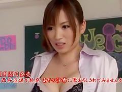 Crazy Japanese chick Saki Ayano in Incredible JAV scene