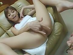 Crazy Japanese slut Akane Hotaru in Amazing Masturbation/Onanii, Handjobs JAV movie
