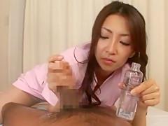 Amazing Japanese girl Kyoko Kashii in Best Handjobs, Massage JAV clip