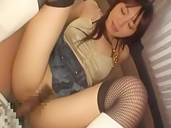 Amazing Japanese chick Ai Takeuchi in Fabulous Stockings/Pansuto, Car JAV video