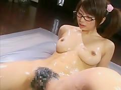 Exotic Japanese chick Hikari Hino in Crazy Fingering, Big Tits JAV scene
