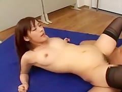 Hottest Japanese slut Nao Ayukawa in Horny Stockings/Pansuto JAV clip
