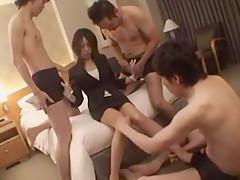 Exotic Japanese girl Risako Yamada in Fabulous JAV video