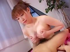 Crazy Japanese whore Hitomi Tanaka in Amazing Handjobs, Big Tits JAV movie