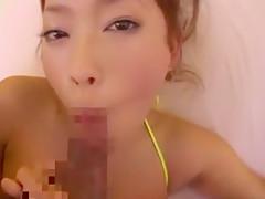 Horny Japanese girl Emiri Seo in Incredible Girlfriend, POV JAV scene