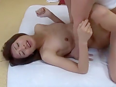 Exotic Japanese chick Yuki Natsume in Hottest Small Tits, Oldie JAV clip