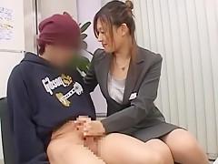 Hottest Japanese slut Sasa Handa, Ayami Sakurai, Meguru Kosaka in Best JAV movie