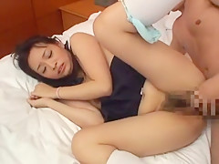 Incredible Japanese whore Miyu Hoshino in Crazy Gangbang, Teens JAV scene