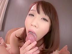 Incredible Japanese slut Hitomi Oki in Exotic JAV uncensored POV movie