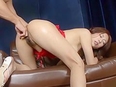 Exotic Japanese girl Yuu Uehara in Horny JAV uncensored Fingering clip
