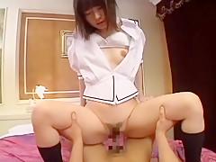Incredible Japanese girl in Crazy Teens, Rimming JAV scene