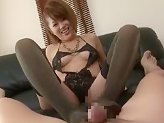 Incredible Japanese whore Saki Kataoka in Horny POV, Foot Job/Ashifechi JAV clip