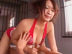 Hottest Japanese chick in Exotic Big Tits JAV movie