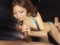 Hottest Japanese model in Incredible Big Tits, Bikini JAV video