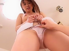 Hottest Japanese slut Mayuka Akimoto in Horny POV JAV movie