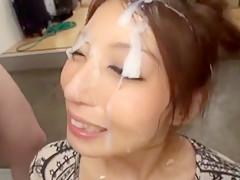 Best Japanese chick Hina Akiyoshi in Fabulous Cumshots, Secretary JAV movie