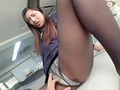 Hottest Japanese slut in Fabulous Fishnet JAV movie
