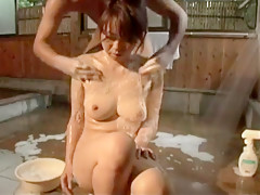 Amazing Japanese whore in Crazy Threesomes, Group Sex JAV clip