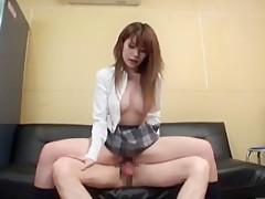 Fabulous Japanese model in Hottest Doggy Style, Big Tits JAV clip