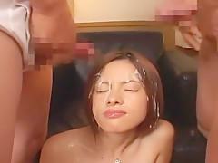 Exotic Japanese girl in Incredible Lingerie, Facial JAV video