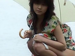 Crazy Japanese girl Manami Amamiya in Exotic Solo Girl, Outdoor JAV video