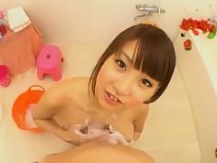 Incredible Japanese slut Hitomi Kitagawa in Horny Sports, Lingerie JAV movie