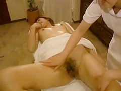 Best Japanese whore in Exotic Massage JAV video