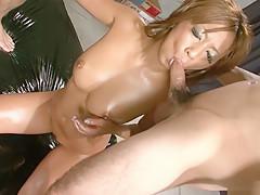 Exotic Japanese whore Juri Sawaki in Horny JAV uncensored Big Tits clip