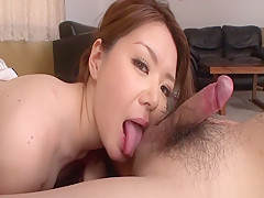 Fabulous Japanese girl China Mimura in Incredible JAV uncensored Blowjob video