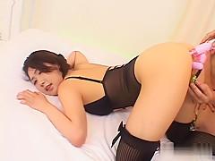 Crazy Japanese model in Amazing JAV uncensored Stockings movie