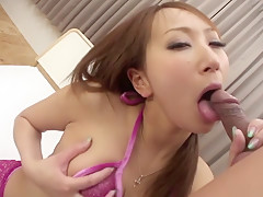 Crazy Japanese girl Anna Mizukawa in Amazing JAV uncensored Cumshots movie