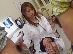 Amazing Japanese model Tsubaki Katou in Best Cumshots, Medical JAV clip