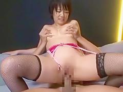 Amazing Japanese girl Yuri Kousaka, Saki Tsuji, Hikari Hino in Crazy Dildos/Toys, Masturbation/Onanii JAV clip