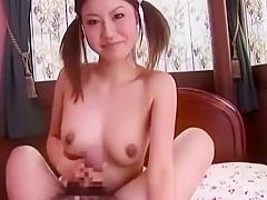 Hottest Japanese model Hana Yoshida in Exotic Fingering, DP/Futa-ana JAV clip