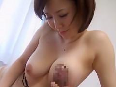 Crazy Japanese girl Imai Natsumi in Incredible Blowjob/Fera, Hardcore JAV scene