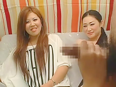 Crazy Japanese whore in Horny Handjobs JAV scene