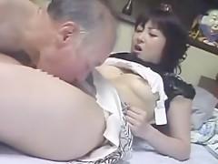 Amazing Japanese model Mai Ebihara, Rina Takakura, Reona Kanzaki in Incredible Oldie JAV movie